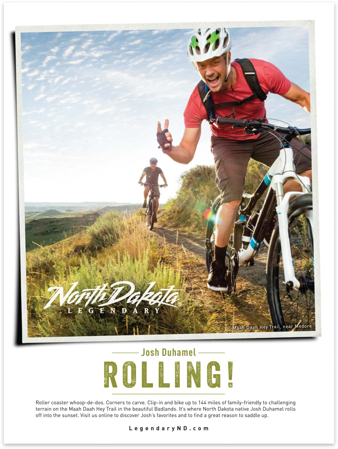 North Dakota Tourism Biking